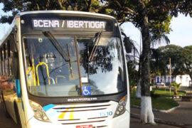 Linhas e horários de ônibus em Ibertioga